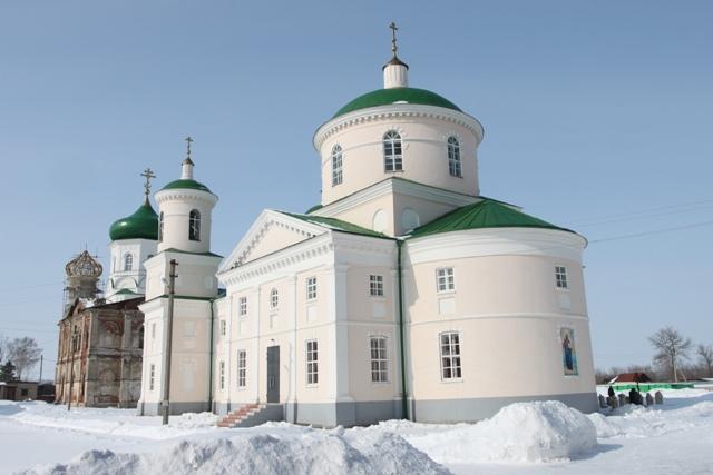 Церковь Дмитрия Солунского в селе Троекурово