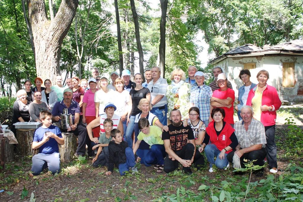 субботник в парке села Троекурово. 20 июля 2019