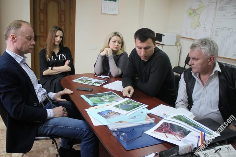 круглый стол в Троекуровской сельской администрации