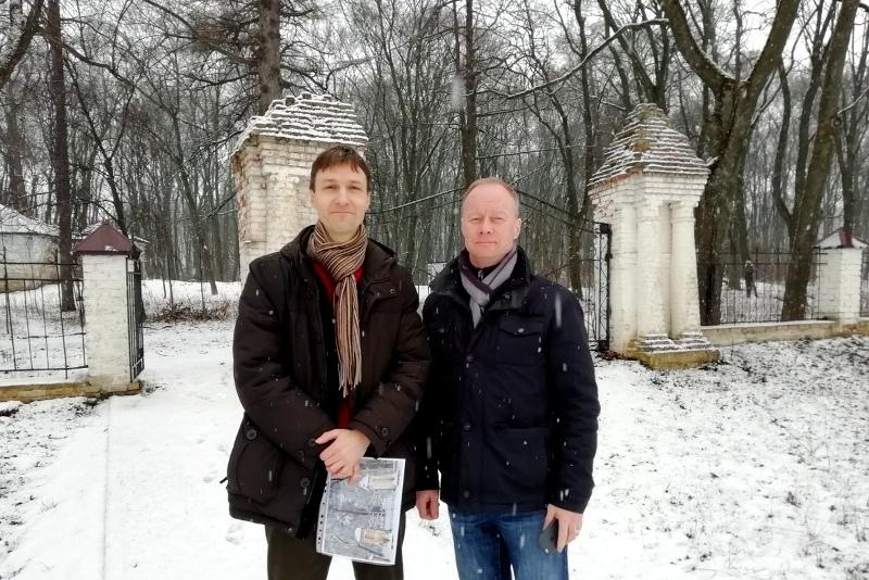В.В. Акимов и С.Л. Пупынин в Троекурово